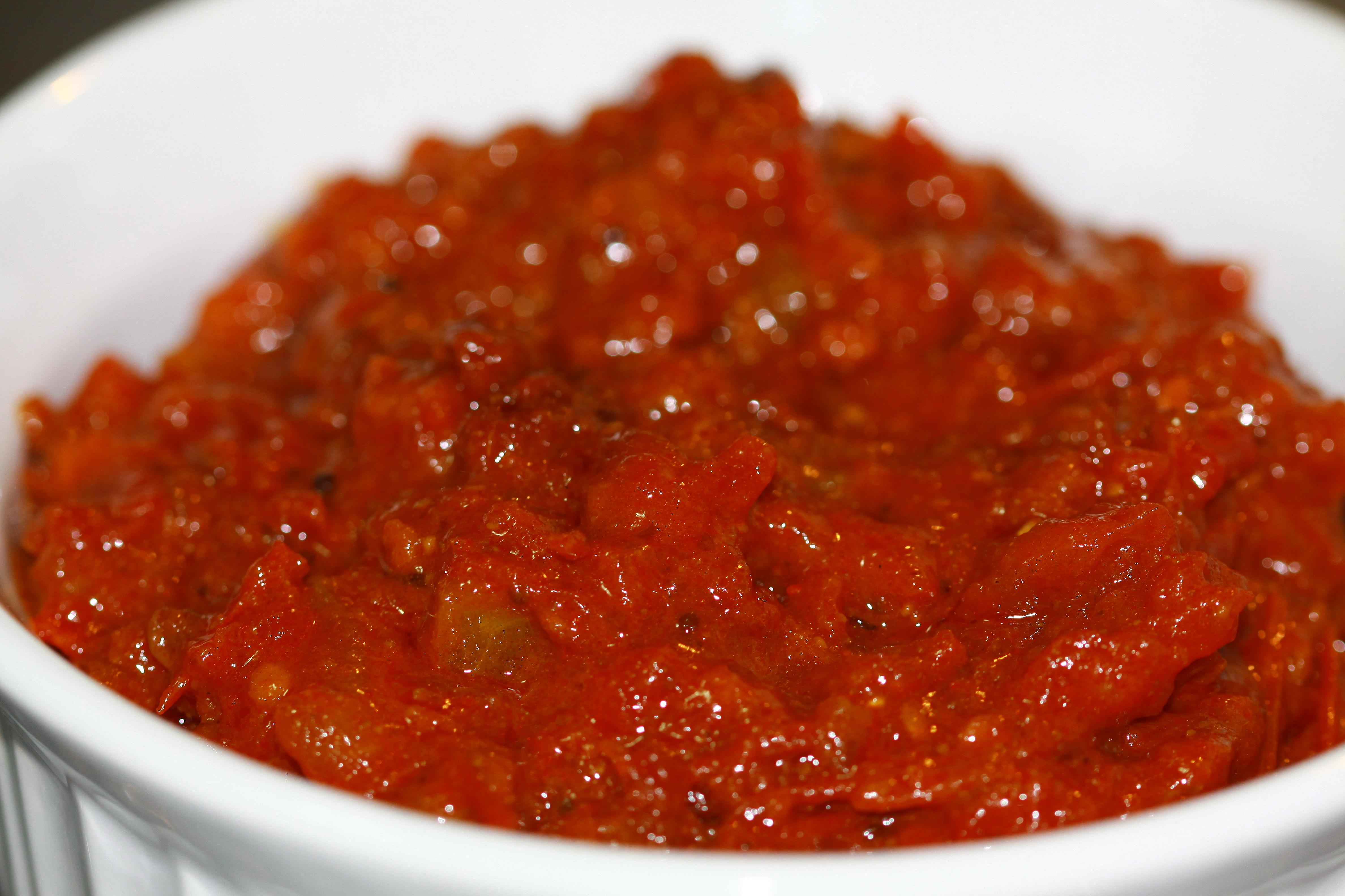 Tomato Thokku (Pickled Tomatoes)