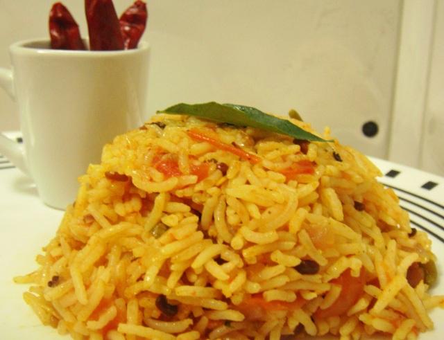 Delicious Tomato Rice.