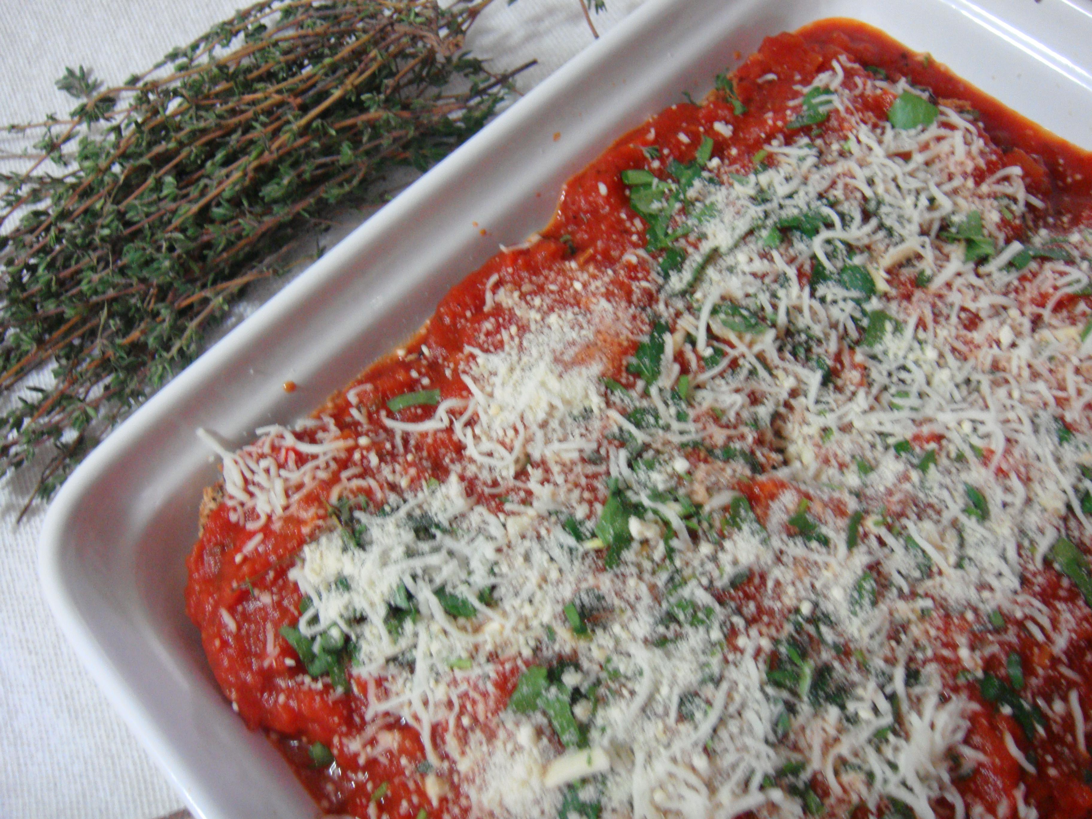 Eggplant Parmigiana Olive Garden Style Anubhavati Tastes From My Kitchen