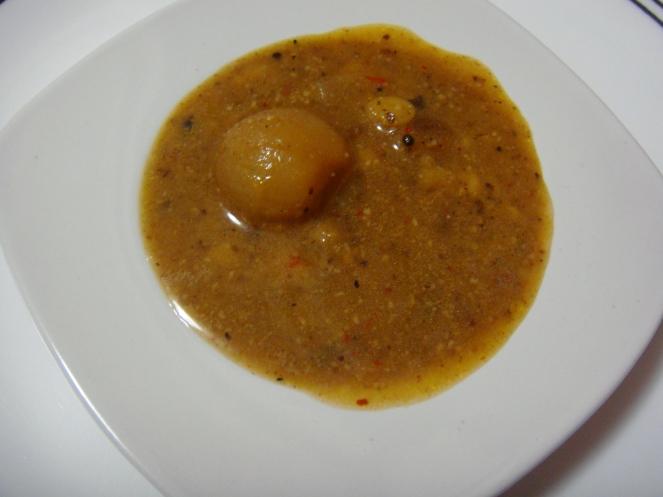 Delicious Vengaya Sambar.