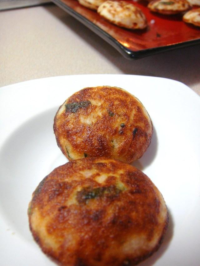 Delicious Kuzhi Paniyaram.