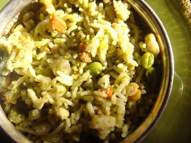 Corriander Rice
