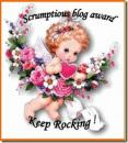 Scrumptious Blog award.