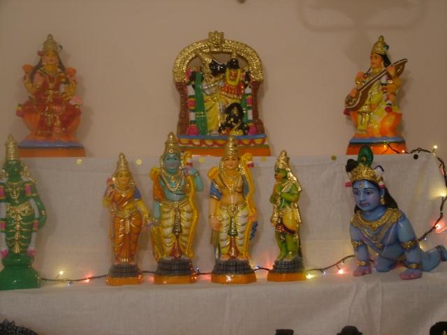 13.Hayagrivar & Ramar Lakshman Sita