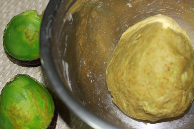 Avocado Paratha Dough.