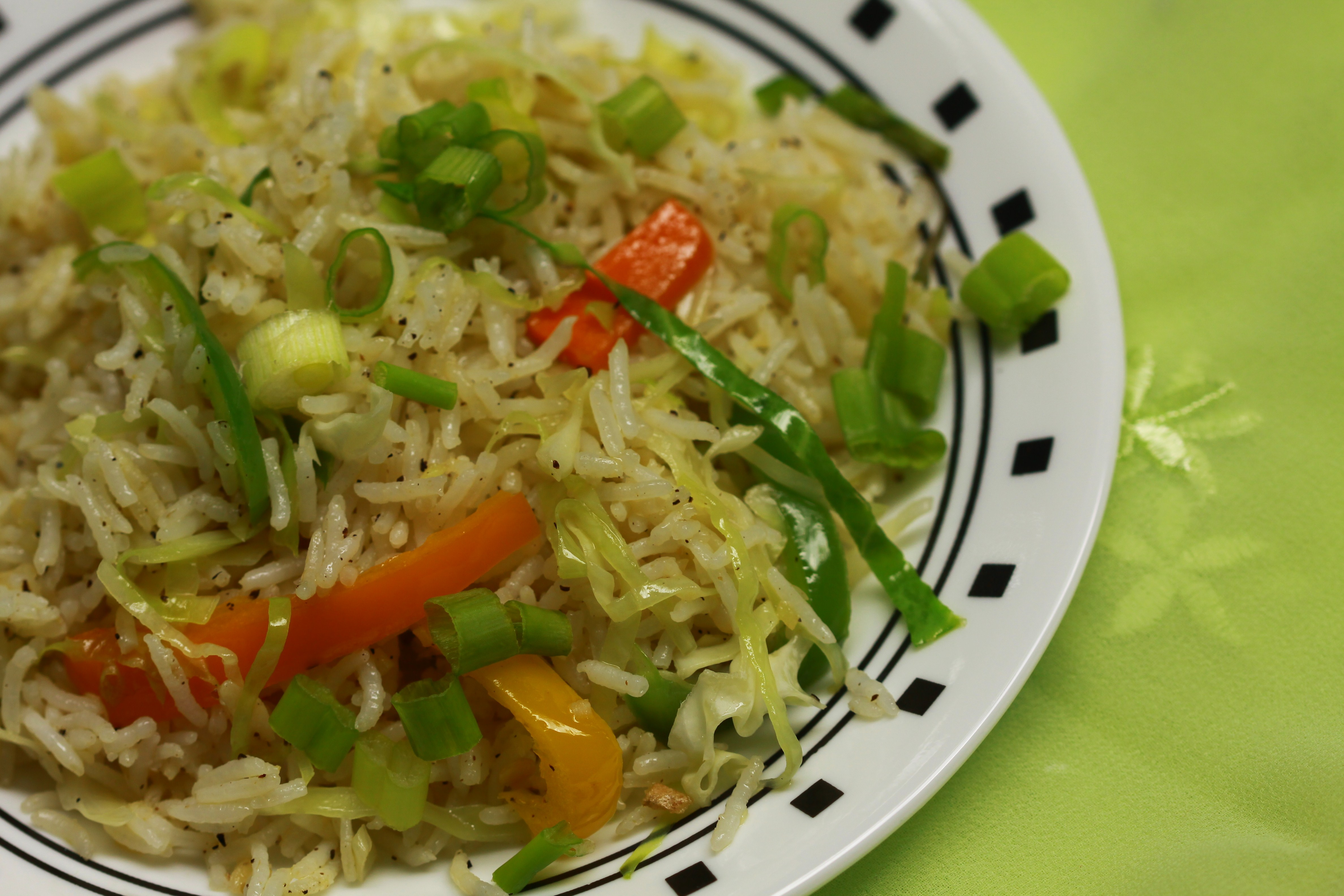 Restaurant style indo chinese veggie fried rice anubhavati fried rice with vegetable manchurian gravy advertisements ccuart Choice Image