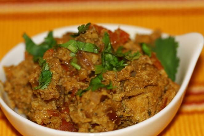 Vegetarian Soya Kheema Subji