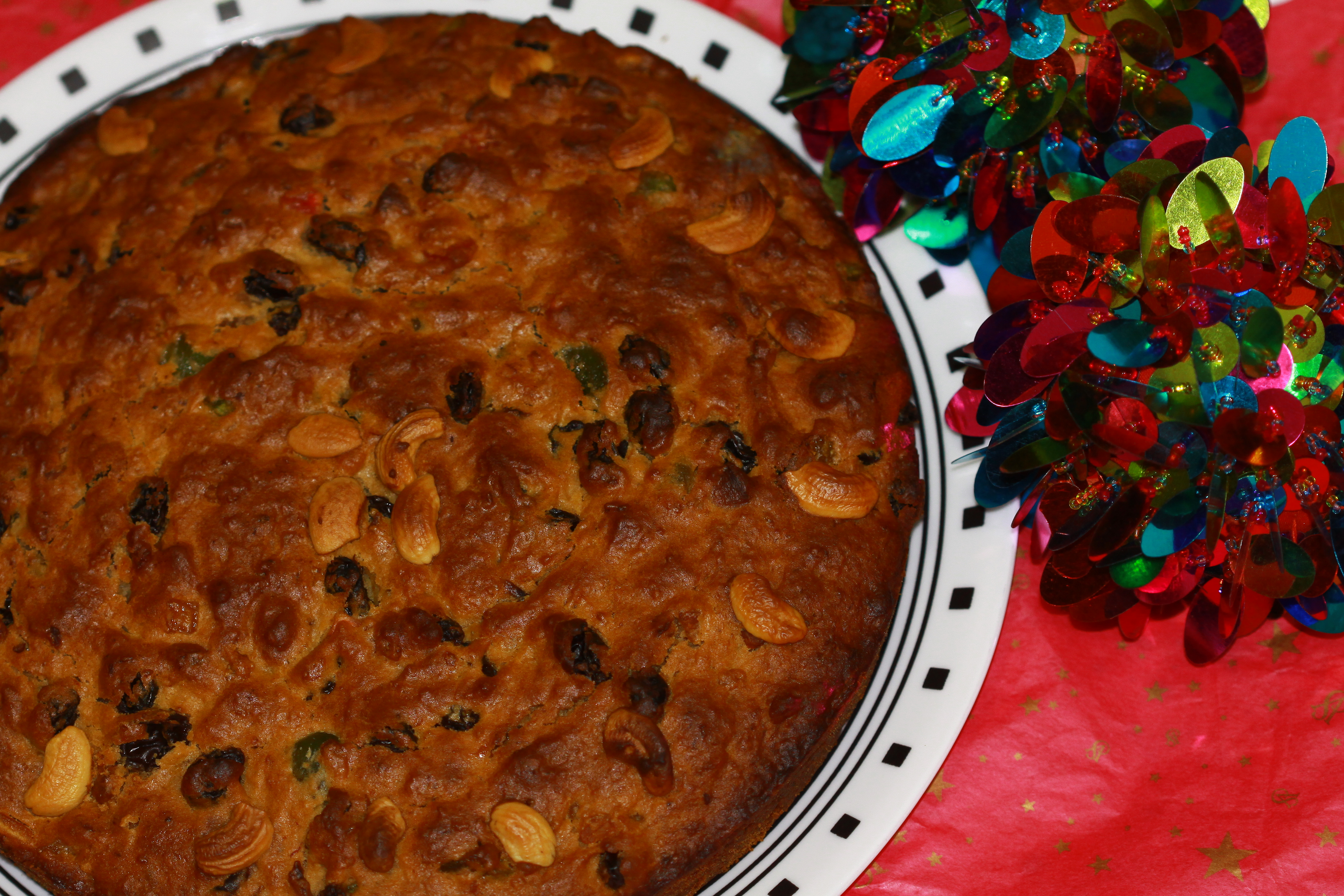 Eggless Fruit Cake Christmas Special Anubhavati Tastes From My Kitchen
